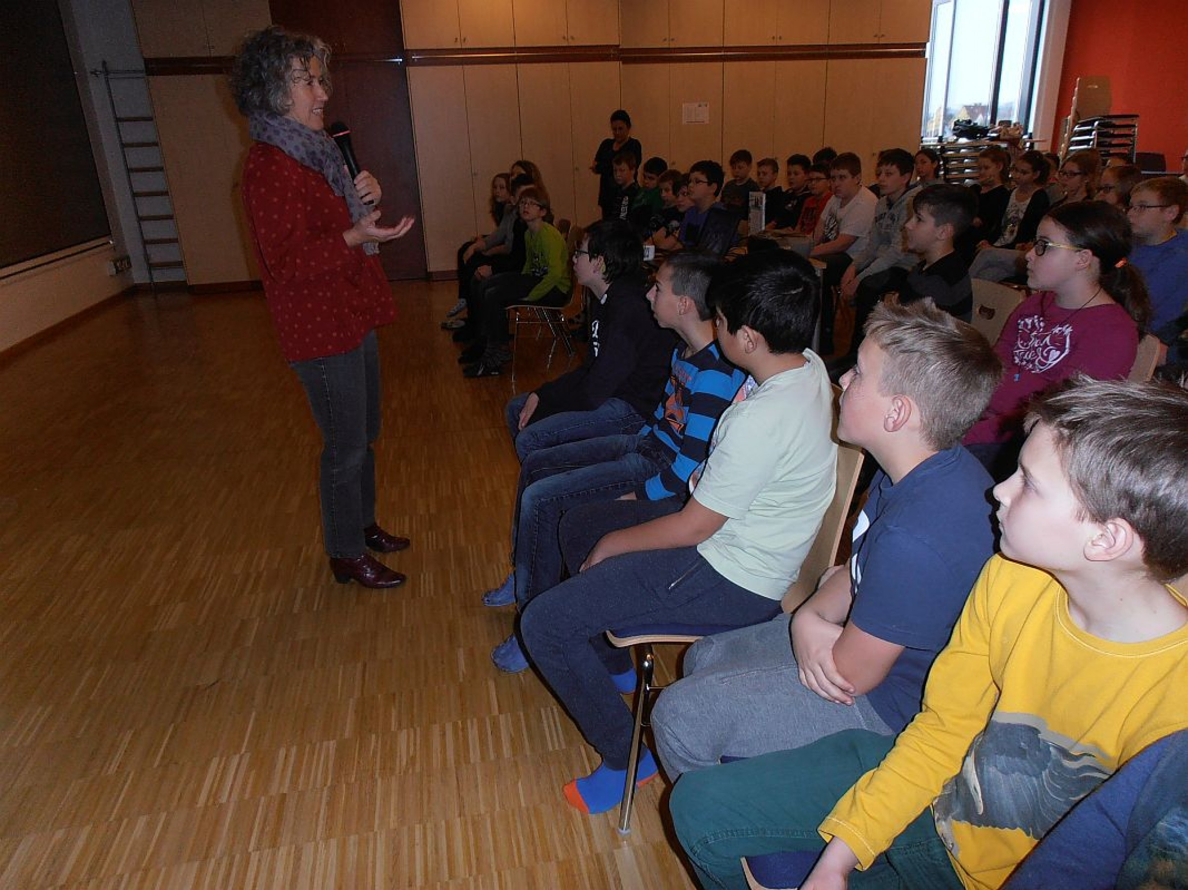 2015 – Gudrun Sulzenbacher zu Gast