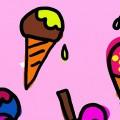 Lies in den Ferien! Hol dir dein Eis!      1. Juli-13. Sept.