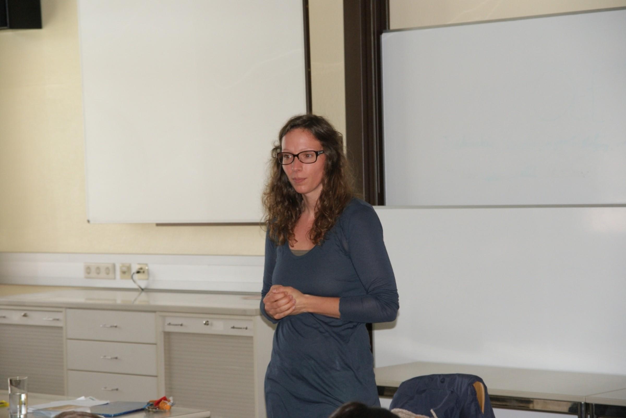 2013 – Michaela Holzinger zu Gast