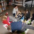 2017 – Jungscharstunde in der Bibliothek