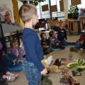 2012 – Kindergartenkinder zu Besuch in der Bibliothek