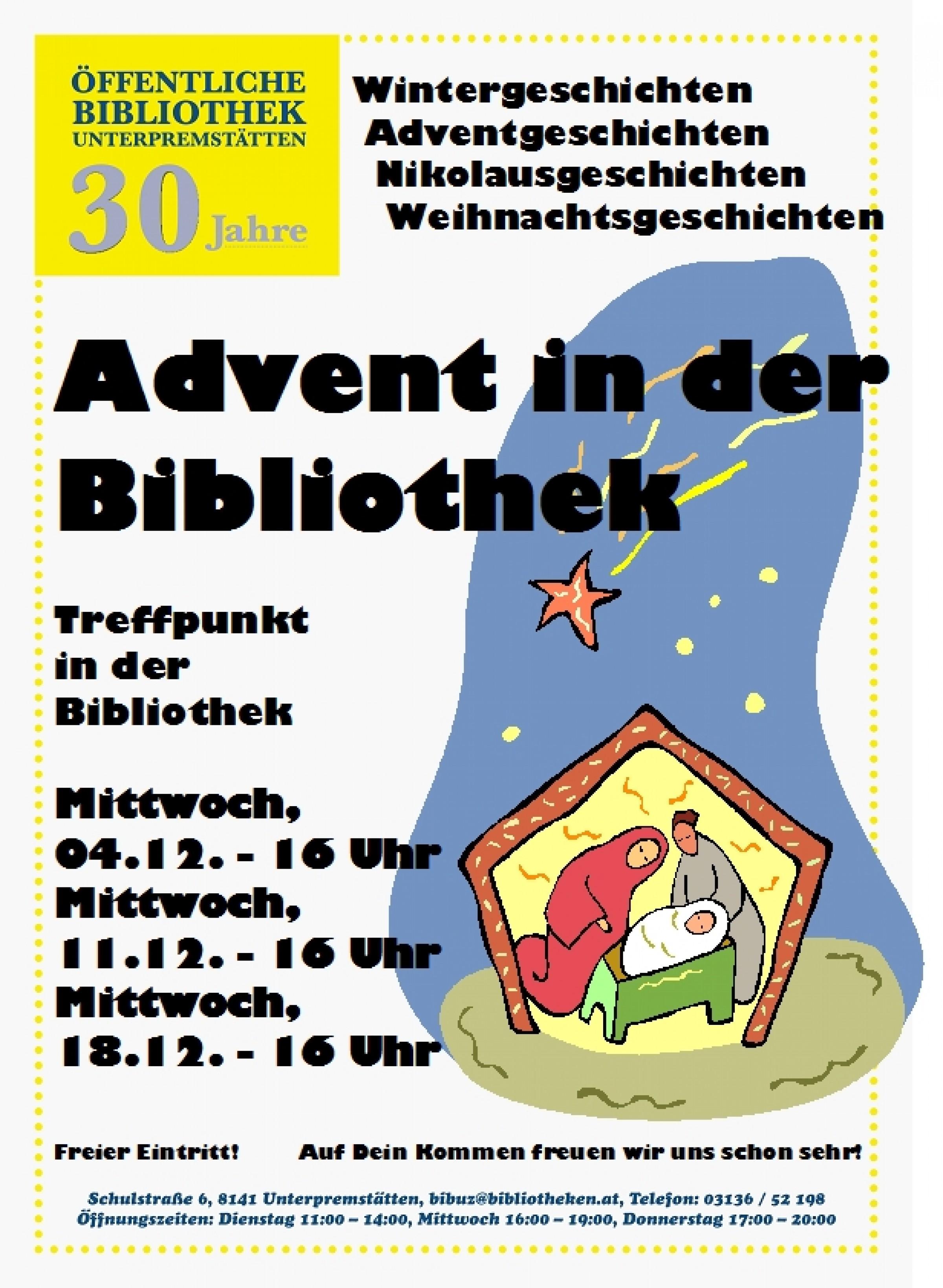 2013 – Advent in der Bibliothek