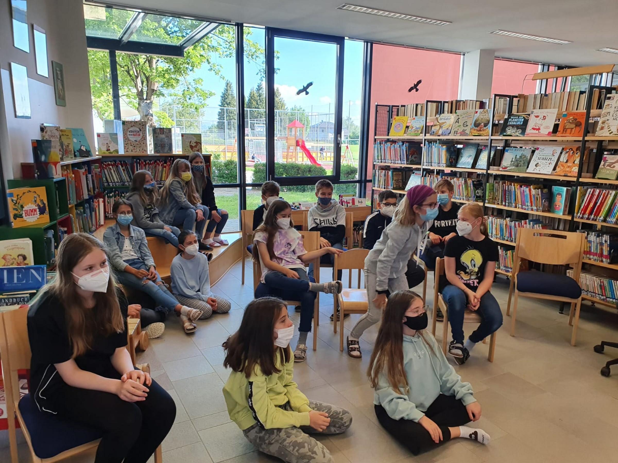 2021- Buchcasting Mittelschule Premstätten